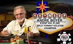 72-летний канадец затащил 34-й ивент WSOP 2015 (+250 000$)